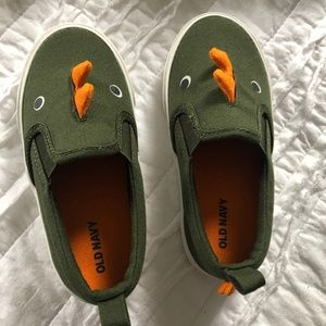 NEW! OLD NAVY Dinosaur Sneakers - Size 8